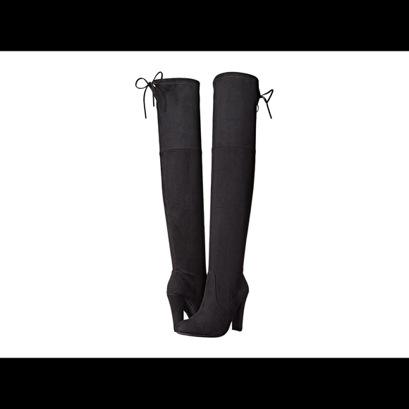 3d0c2912be6 Steve Madden Gorgeous over the knee boot- black. M 5bd316d0534ef9f5a7c91f3c